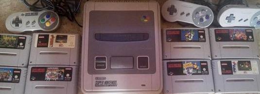 Consola súper nintendo juegos