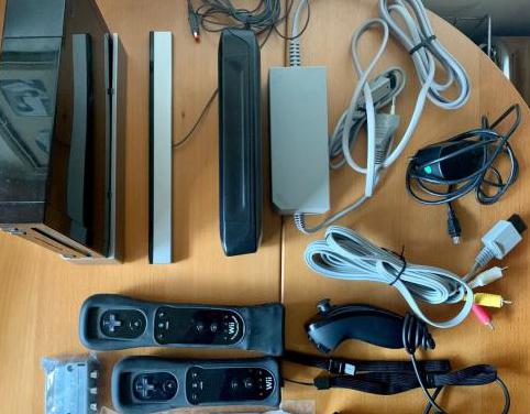 Consola wii accesorios y 14 juegos