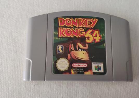 Juego donkey kong 64 nintendo 64 original