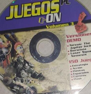Juegos pc on 150 juegos vol. 3 versiones demo estr