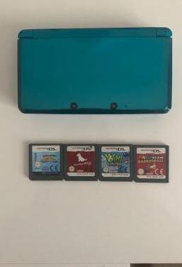 Nintendo 3ds aqua blue edition