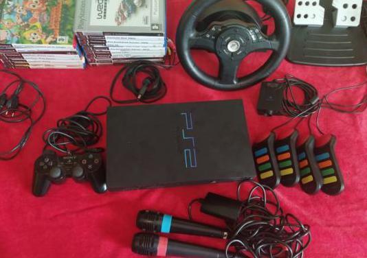 Ps2, 20 juegos y accesorios