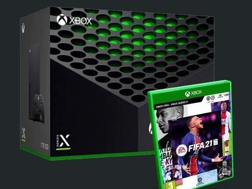 Reserva pack xbox series x fifa 21