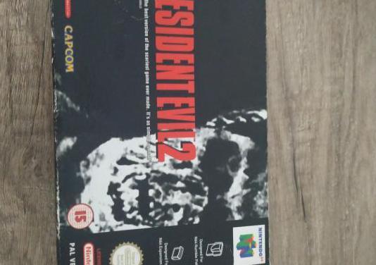 Resident evil 2 nintendo 64 pal españa