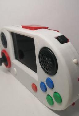 Video consola retro portatil