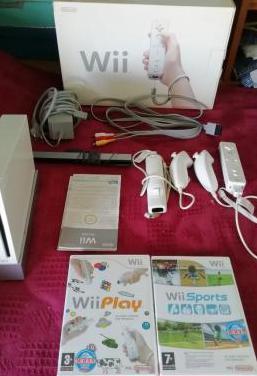 Wii 2 mandos 2 juegos