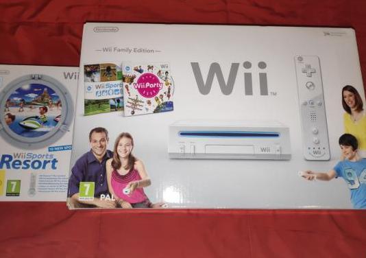 Wii nintendo family edition