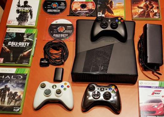 Xbox 360 slim 30 juegos