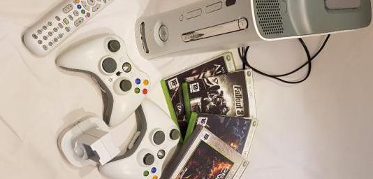 Xbox 360 funcionando perfectamente