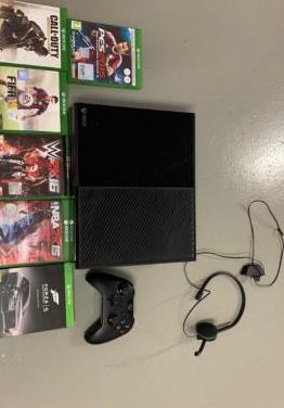 Xbox one 1 mando y 6 juegos