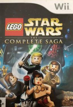 Star wars lego wii