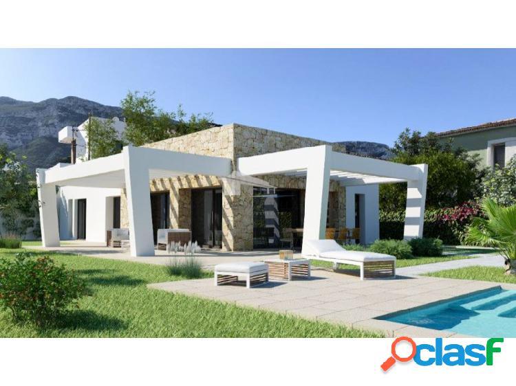 Villa moderna en construcción en venta en dénia, alicante