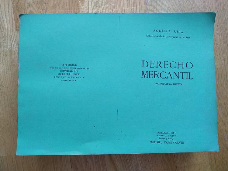 Derecho mercantil edición decimonónica 1975