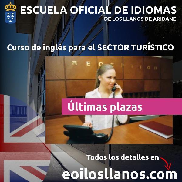 Inglés para el sector turístico
