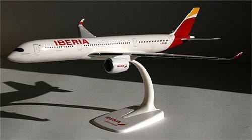 Maqueta avion iberia
