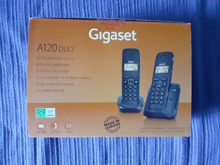 Teléfono inalámbrico gigaset a120 duo