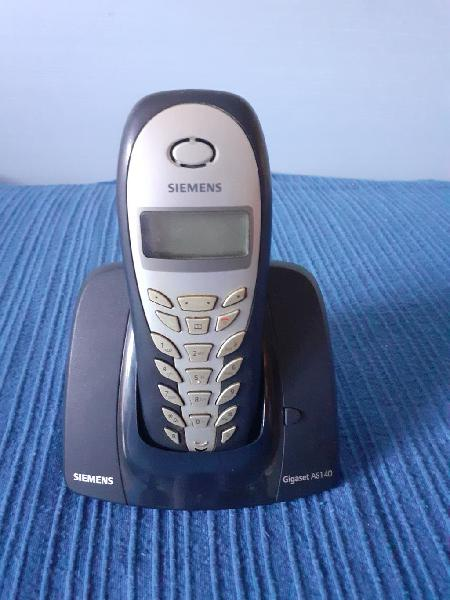 Teléfono inalámbrico siemens gigaset as140