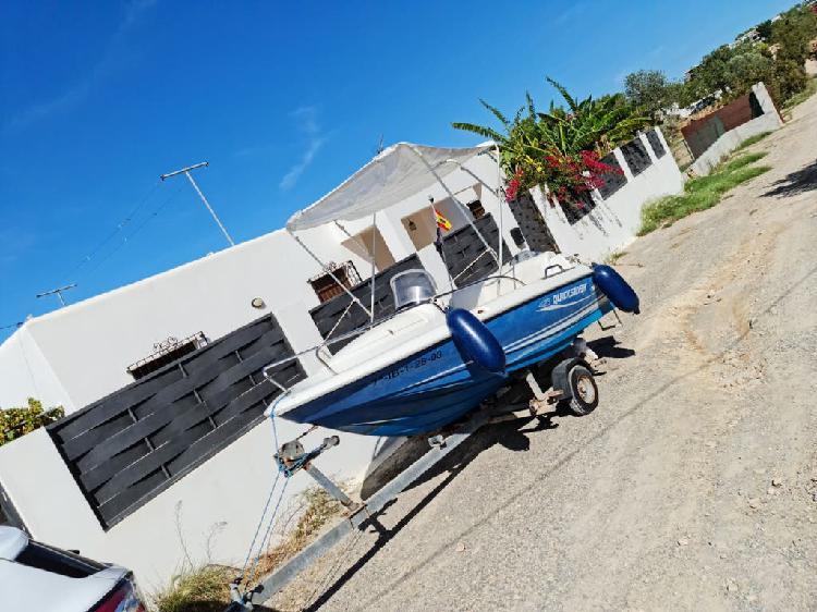 Barco quiksilver 425 mariner 50 2t