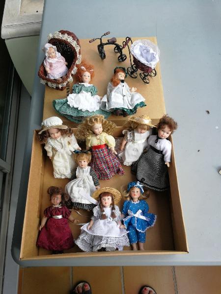 Coleccion muñecas porcelana casa muñecas