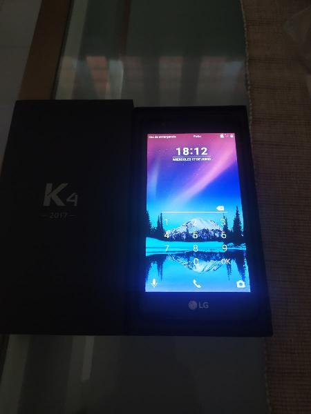 Movil lg k4 2017 nuevo
