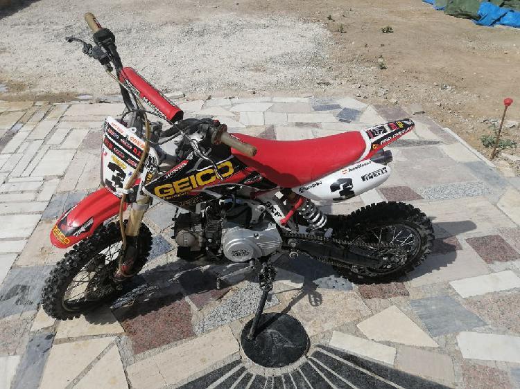 Pit bike rebel master 125