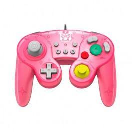 Gamepad hori battle peach rosa