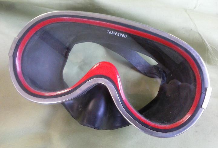 Gafas de buceo nemrod mod. super-lux. años 70. usadas.