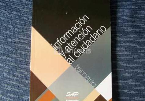Información y atencion al ciudadano, libro nuevo