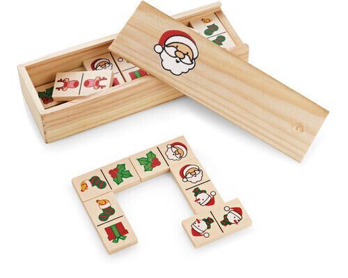 Juego dominó navideño