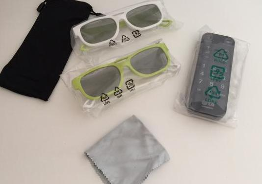 Kit gafas lg dual play con mando a distancia