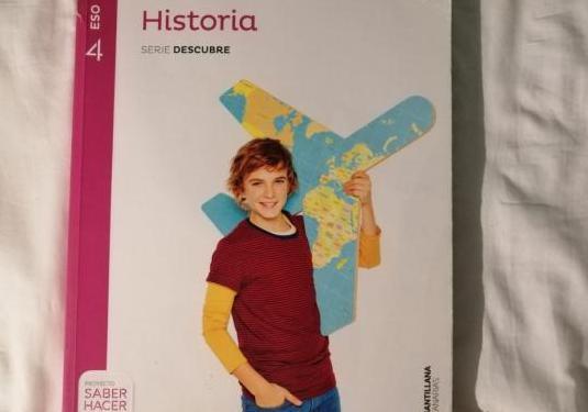 Libro historia 4°eso editorial santillana