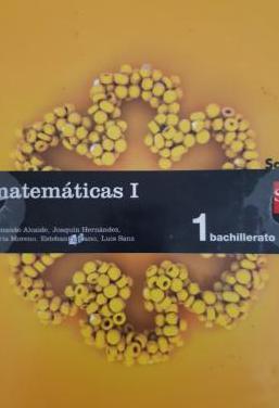 Libro de matemáticas i 1 bachillerato sm