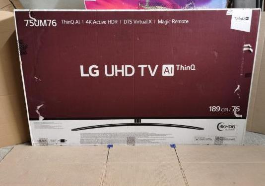 Tv lg 75 4k hdr alexa y google nueva
