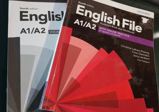 Libro de inglés a1/a2 eoi