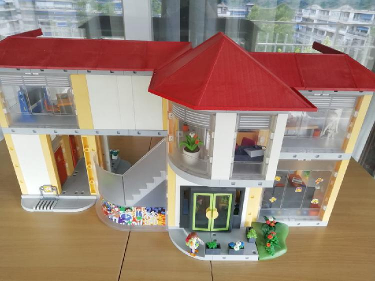Colegio de playmobil