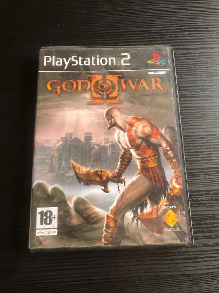Juego god of war ii play station 2