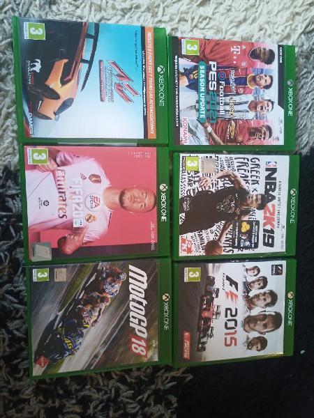 Lote videojuegos xbox one