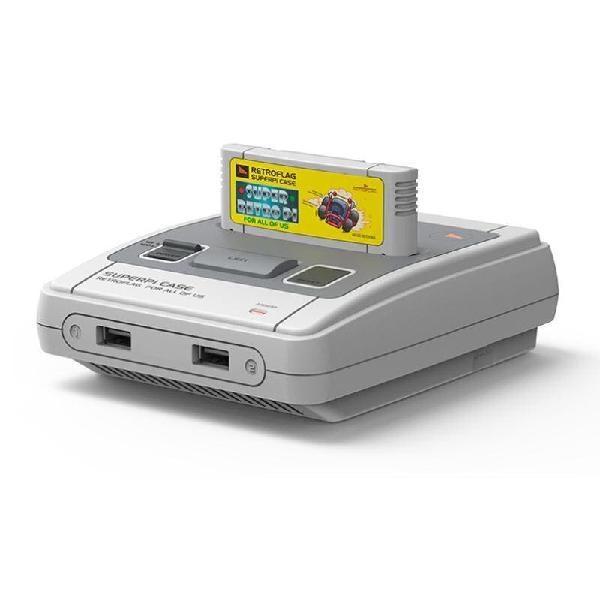 Mini consola súper nintendo nueva y dos mandos