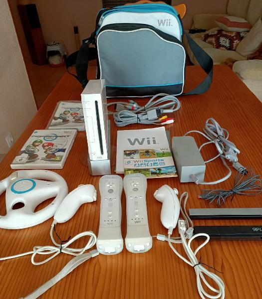 Nintendo wii, mandos, juegos, accesorios.