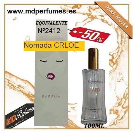 Oferta perfume mujer nº2414 nomada crloe alta gama 100ml