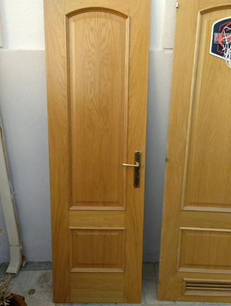 Puertas madera macizas roble
