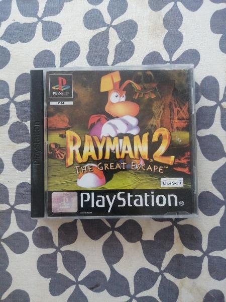 Rayman 2 ubisoft ps1