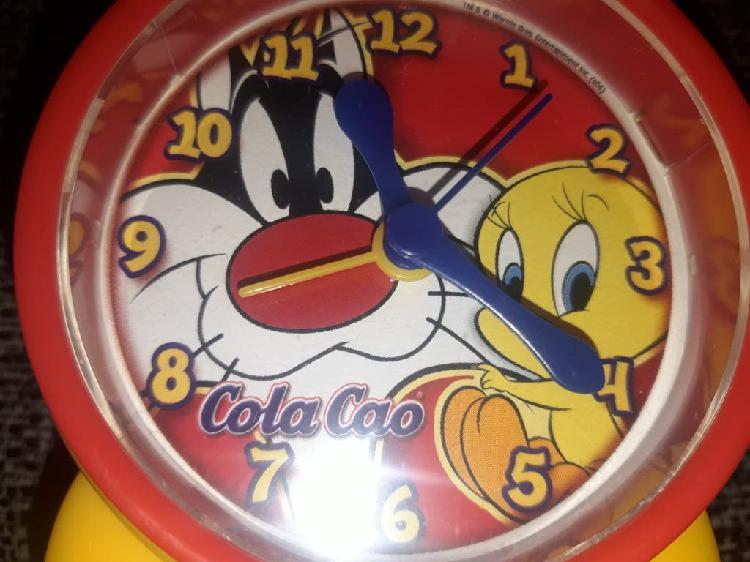 Reloj despertador cola cao