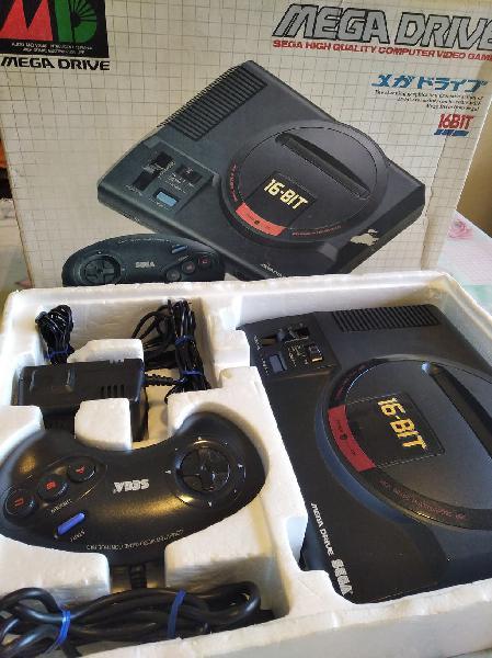 Sega mega drive jap completa + mod