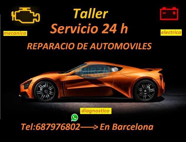Taller,mecánico, abierto,24 horas,en barcelona