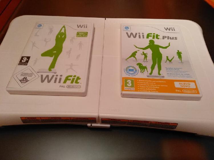 Wii balance board + 2 juegos