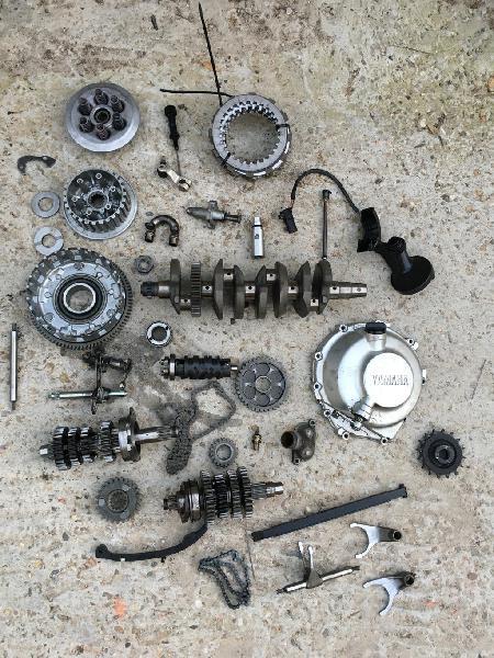 Despiece motor yamaha r6 99-02