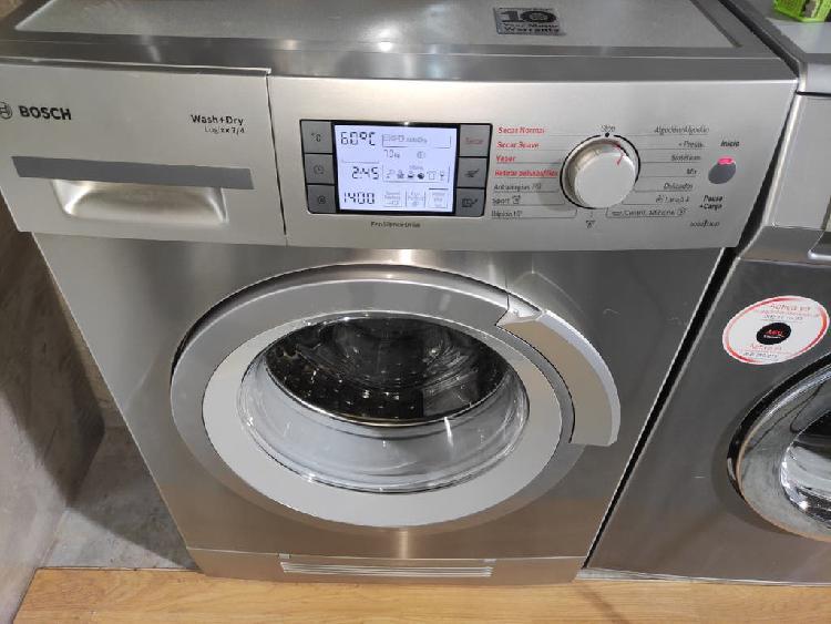 Lavadora secadora bosch a 7/4 kg 1400 rpm