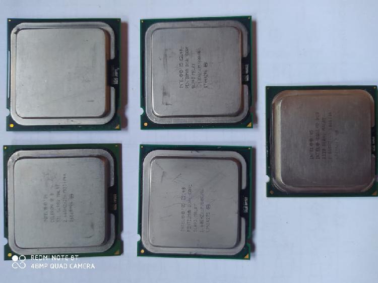 Lote procesadores socket 775