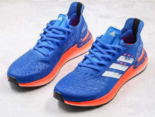 Adidas ultra boost 20 (blue, orange)